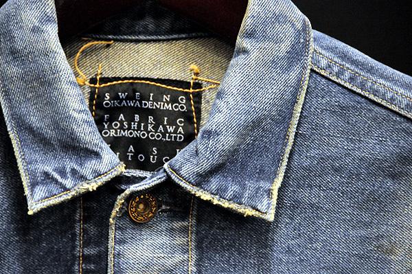 少し工夫されたデニムジャケットコーデ集。お馴染みのGジャンに隠された今後の可能性を探る! 1番目の画像