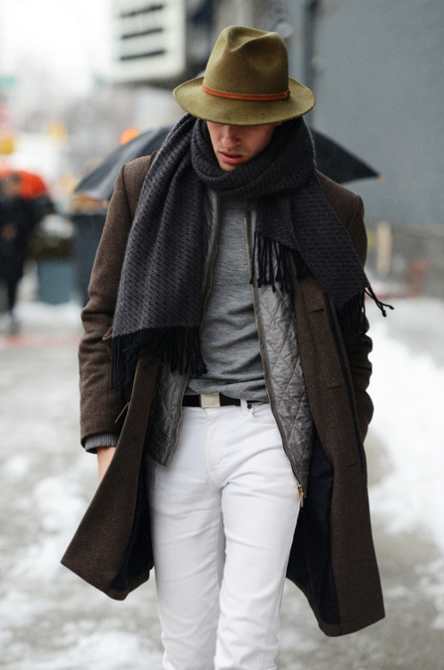 おしゃれに体温調節できる「インナーダウンの着こなし」:気温の変化が激しい季節はこれで乗り越えろ! 7番目の画像