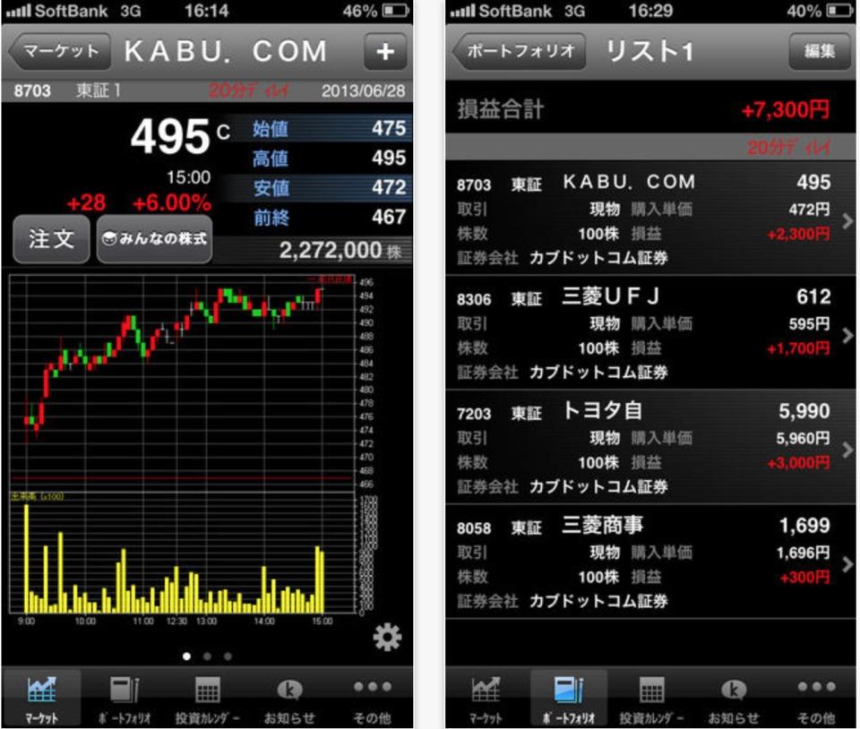 証券会社や情報通信社が提供する「株式投資アプリおすすめ10選」:手のひらで始まる、資産運用 2番目の画像