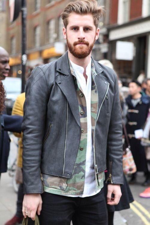 """オールシーズン活躍の""""迷彩柄""""でファッションを楽しむ。海外のお洒落メンズに見る、迷彩の着こなし術 9番目の画像"""