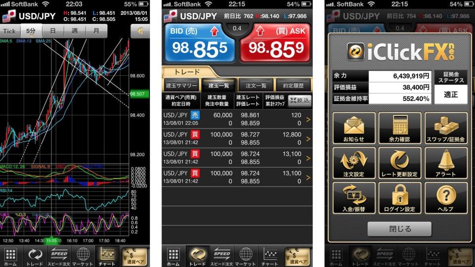 為替情報の収集からトレードまで。8つのおすすめFXアプリでストレスフリーな投資を! 8番目の画像
