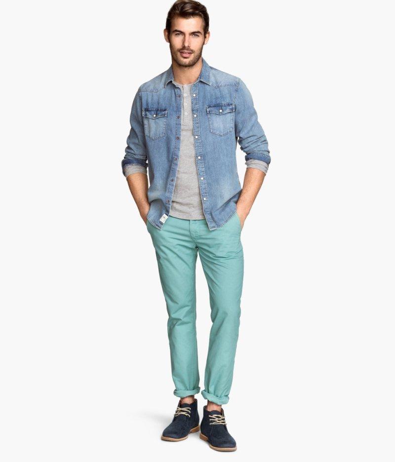 H&Mのおしゃれメンズコーデ集:デザイン性の高いファストファッションブランドでおしゃれに飾れ! 6番目の画像