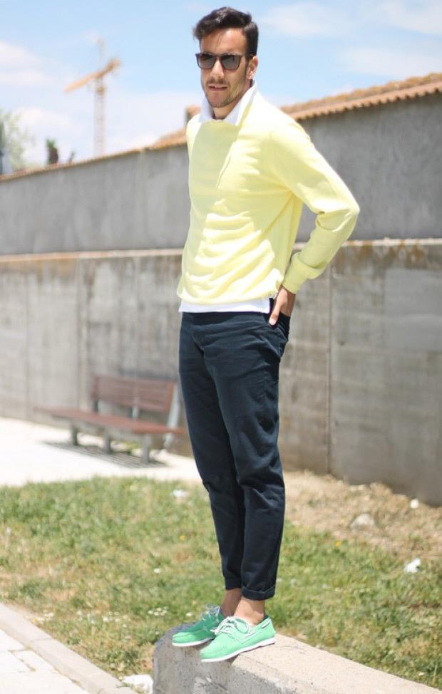 """春シーズンに使いたい""""男のパステルカラーコーデ"""":爽やかメンズコーデのポイントは色使いにアリ! 2番目の画像"""