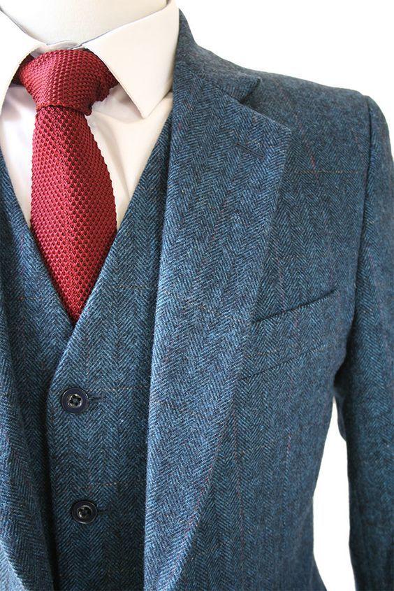 """ネクタイが彩る、魅惑のネイビースーツコーデ集:""""いつも""""を変えるたった4つのテクニック 4番目の画像"""