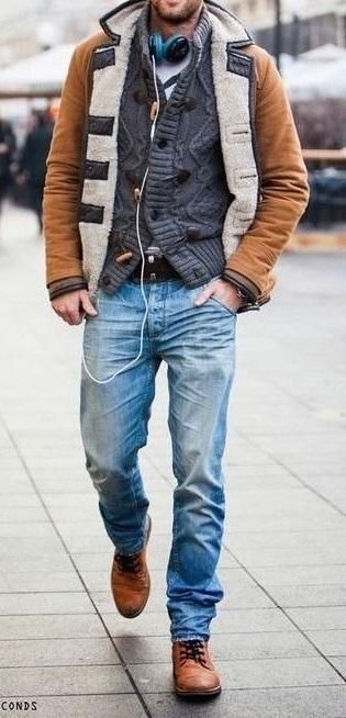 """メンズの休日には""""ニットジャケット""""を。おすすめはラペルやポケットがある「脱カーディガン」なモノ 13番目の画像"""