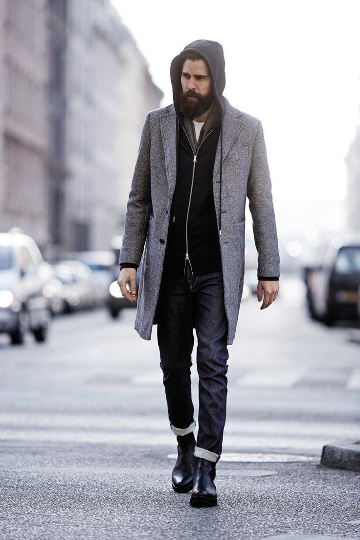 トップス別 20-30代男性のための「ジーンズのサイズの選び方」:オフィスカジュアルかモードか? 10番目の画像