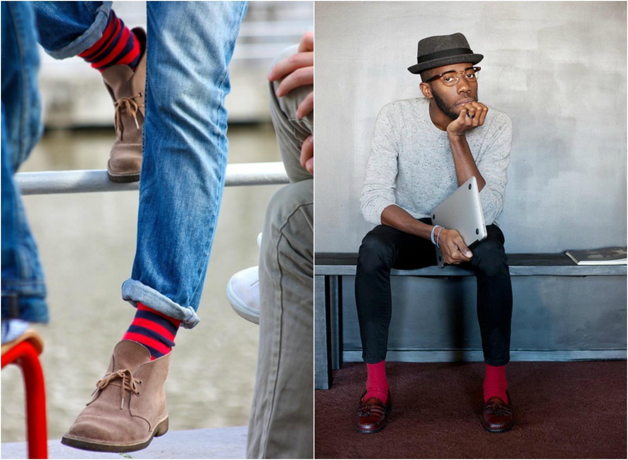 メンズ靴下の4つの人気ブランド:おしゃれは足元から、靴だけで