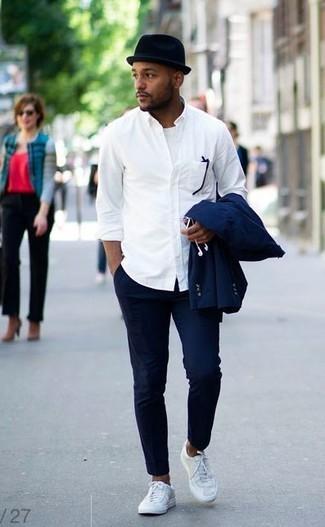 """メンズファッションの大黒柱、""""白シャツコーデ""""決定版:これからの季節には白シャツで爽やかに飾れ 2番目の画像"""