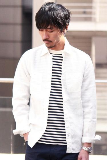 """メンズファッションの大黒柱、""""白シャツコーデ""""決定版:これからの季節には白シャツで爽やかに飾れ 18番目の画像"""