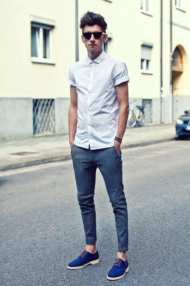 """メンズファッションの大黒柱、""""白シャツコーデ""""決定版:これからの季節には白シャツで爽やかに飾れ 14番目の画像"""