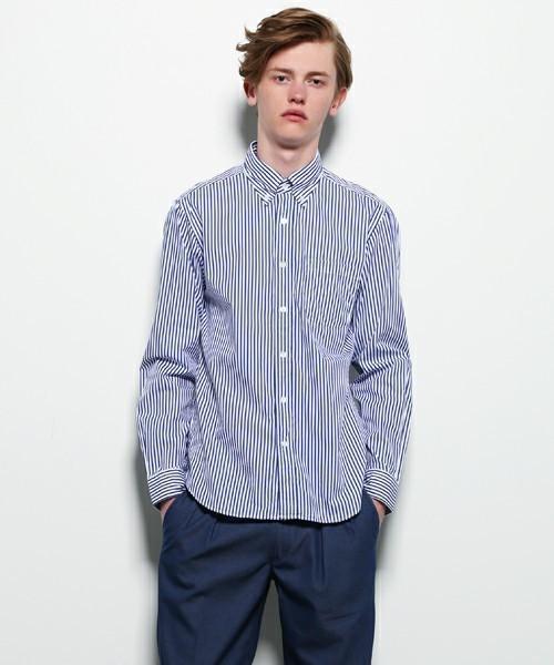 """一枚で好印象メンズに。爽やかコーデは""""ストライプシャツ""""だけで作れる! 7番目の画像"""