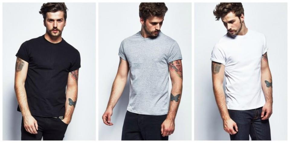 メンズファッションの標準装備「無地Tシャツ」のおすすめコーデ:これからの季節はこれで決まり! 1番目の画像