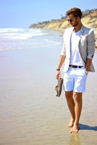 """夏の大人メンズは""""ハーフパンツ""""で爽やかに飾れ! イマドキのおしゃれな着こなしは""""膝上丈""""が正解 3番目の画像"""