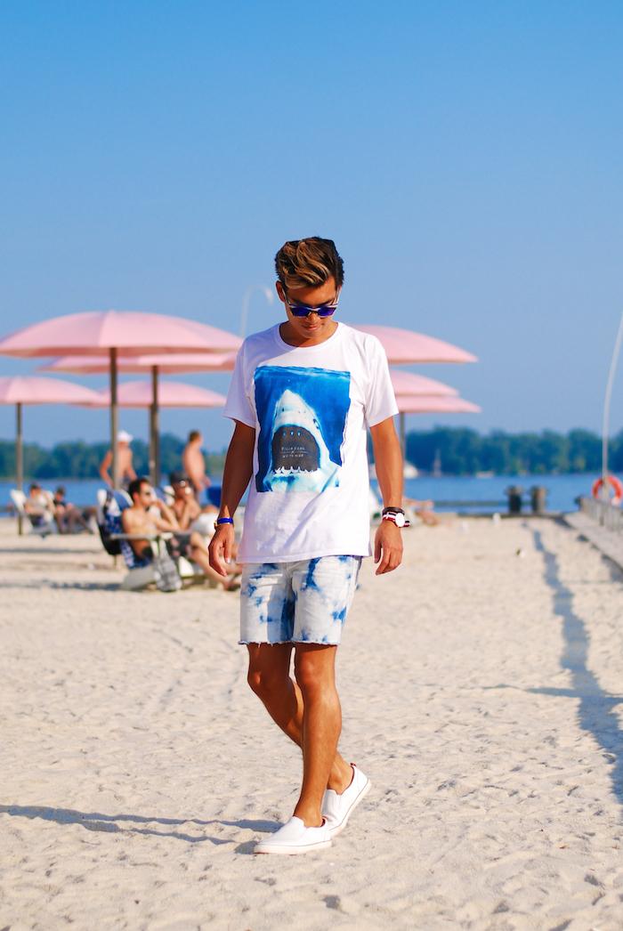 """夏の大人メンズは""""ハーフパンツ""""で爽やかに飾れ! イマドキのおしゃれな着こなしは""""膝上丈""""が正解 9番目の画像"""