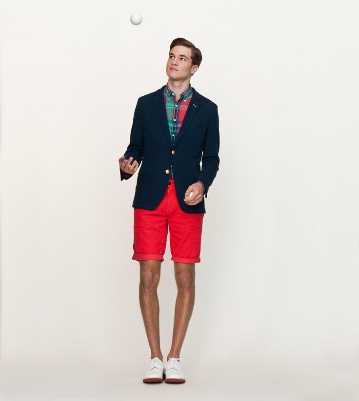 """夏の大人メンズは""""ハーフパンツ""""で爽やかに飾れ! イマドキのおしゃれな着こなしは""""膝上丈""""が正解 4番目の画像"""