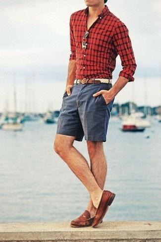 """夏の大人メンズは""""ハーフパンツ""""で爽やかに飾れ! イマドキのおしゃれな着こなしは""""膝上丈""""が正解 8番目の画像"""