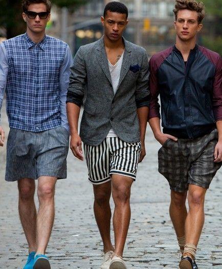 """夏の大人メンズは""""ハーフパンツ""""で爽やかに飾れ! イマドキのおしゃれな着こなしは""""膝上丈""""が正解 2番目の画像"""