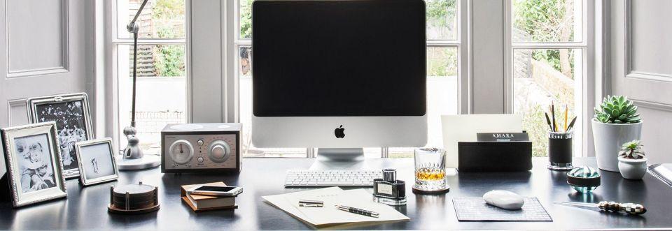 仕事がはかどる「デスク整理術」:できる男のデスクは、自分だけのオフィスビルだと思え。 1番目の画像