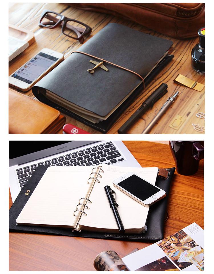 """気品漂うおすすめな5つの「革手帳」:""""革を育てる""""という贅沢な趣向をビジネスシーンで楽しめ。 4番目の画像"""