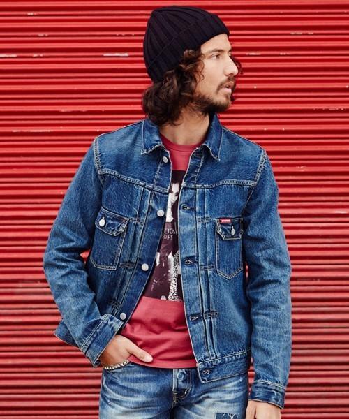 """ワイルドなかっこよさを演出する5つの""""デニムジャケット""""ブランド:自分色に染まっていく快感を知る 6番目の画像"""
