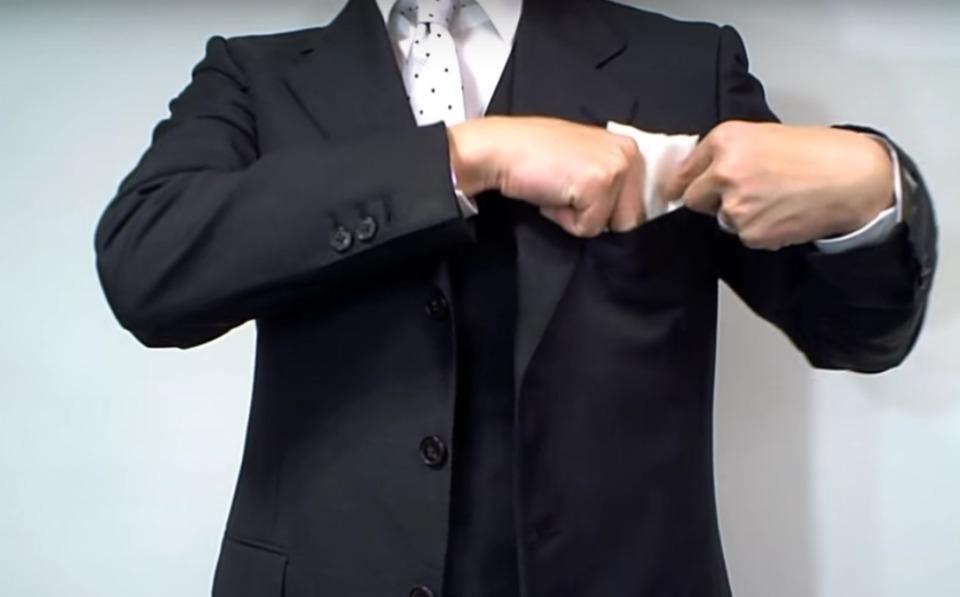 """結婚式やパーティーに:""""ポケットチーフ""""完全保存版! 15番目の画像"""