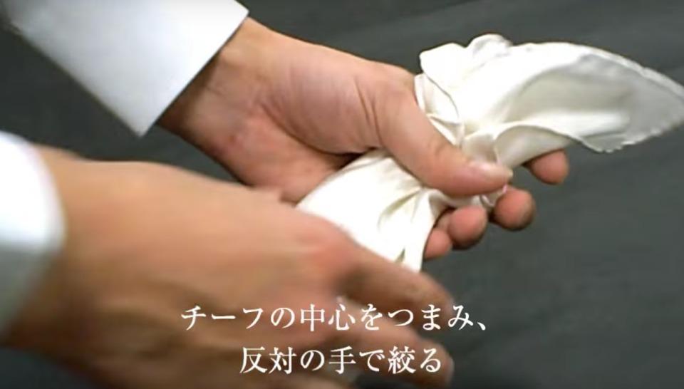 """結婚式やパーティーに:""""ポケットチーフ""""完全保存版! 28番目の画像"""