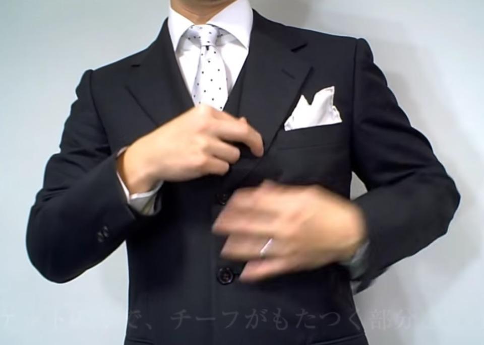 """結婚式やパーティーに:""""ポケットチーフ""""完全保存版! 31番目の画像"""