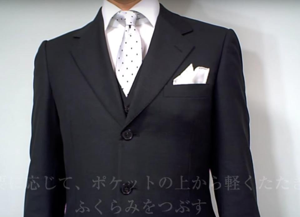 """結婚式やパーティーに:""""ポケットチーフ""""完全保存版! 32番目の画像"""
