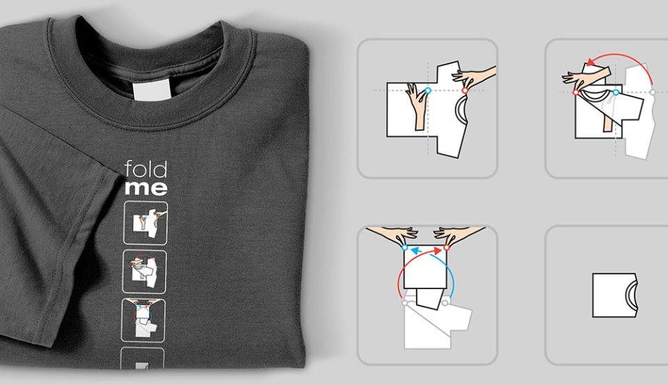 誰にでもできるTシャツ収納術! 素早い折りたたみ方と収納のポイントを解説 2番目の画像