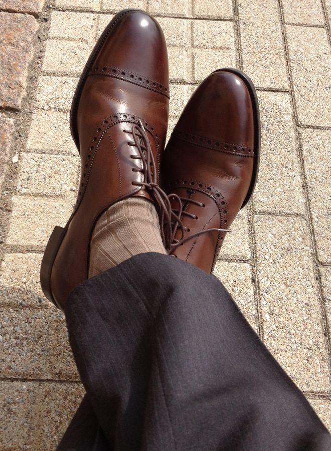 """""""靴下だからと侮るなかれ"""" 素材・デザインで選ぶ「ビジネス靴下」 9番目の画像"""