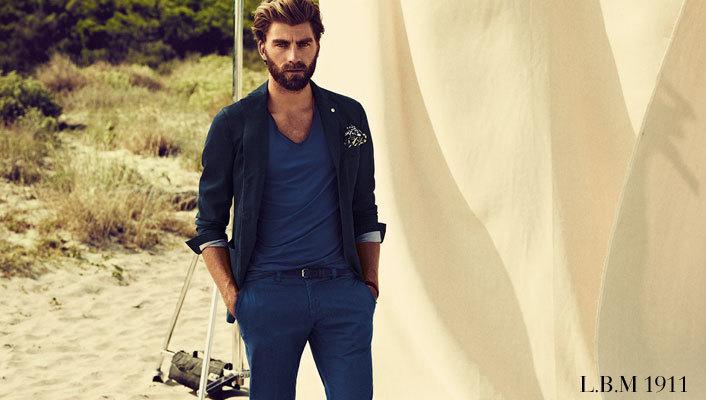"""イタリア男を格上げする""""L.B.M.1911""""の紺ジャケ:確かなブランド力と品質を身にまとえ! 1番目の画像"""