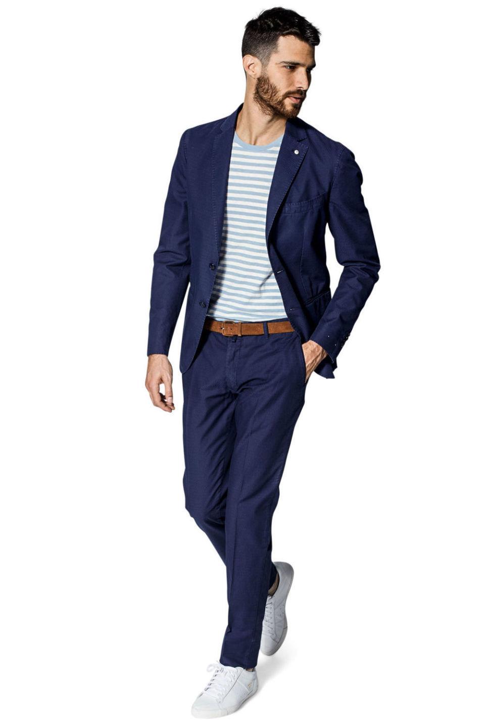 """イタリア男を格上げする""""L.B.M.1911""""の紺ジャケ:確かなブランド力と品質を身にまとえ! 4番目の画像"""