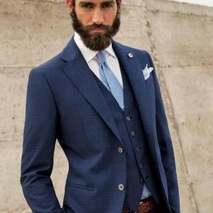 """イタリア男を格上げする""""L.B.M.1911""""の紺ジャケ:確かなブランド力と品質を身にまとえ! 3番目の画像"""