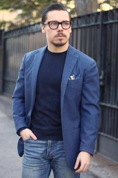 """イタリア男を格上げする""""L.B.M.1911""""の紺ジャケ:確かなブランド力と品質を身にまとえ! 5番目の画像"""