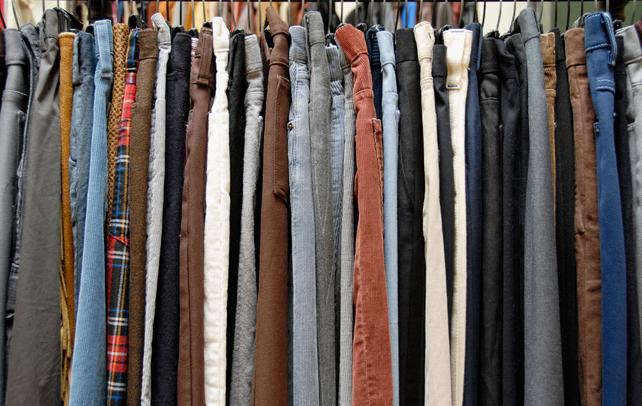 ファッションの基本! メンズのパンツの種類の紹介! 1番目の画像