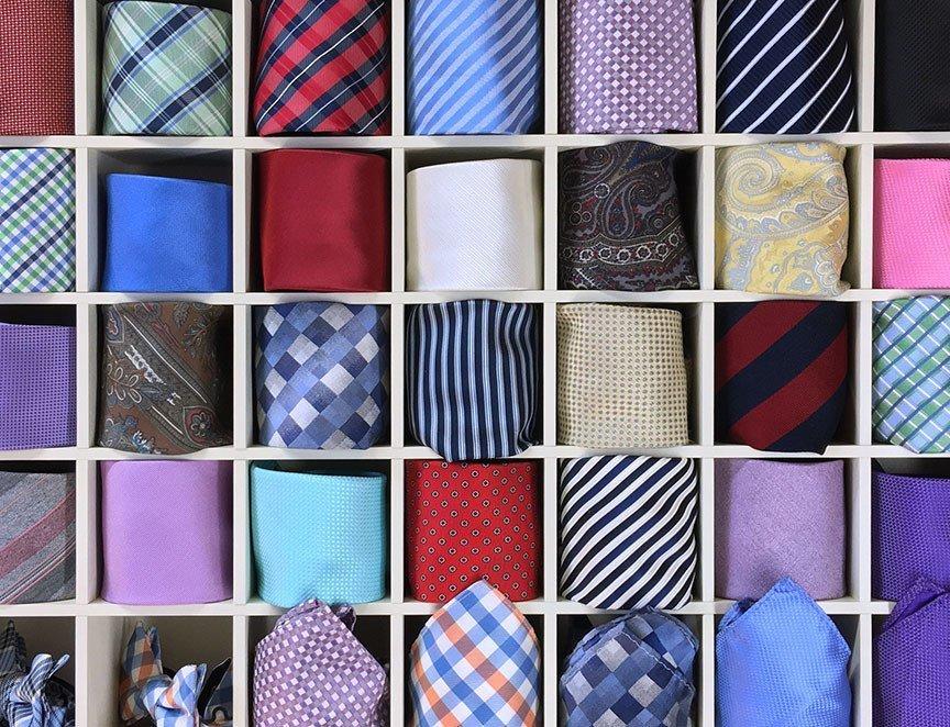 正しく収納しよう! ネクタイの保管方法を紹介 1番目の画像