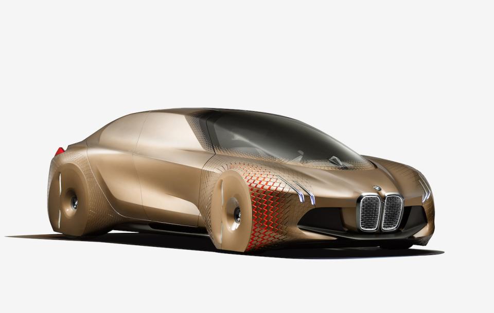 """BMWグループ""""次の100年構想"""":コンセプトバイクは自立&ヘルメット不要だった!! 3番目の画像"""