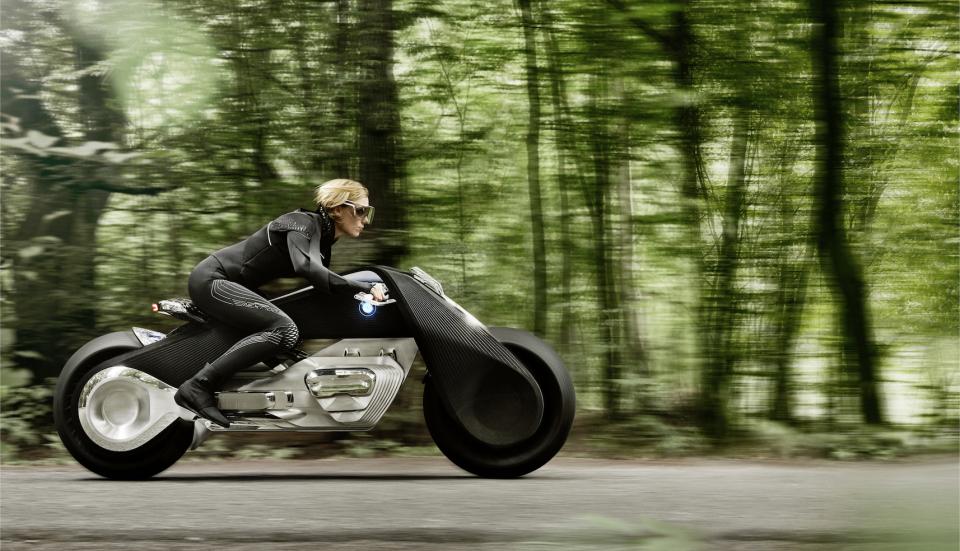 """BMWグループ""""次の100年構想"""":コンセプトバイクは自立&ヘルメット不要だった!! 4番目の画像"""