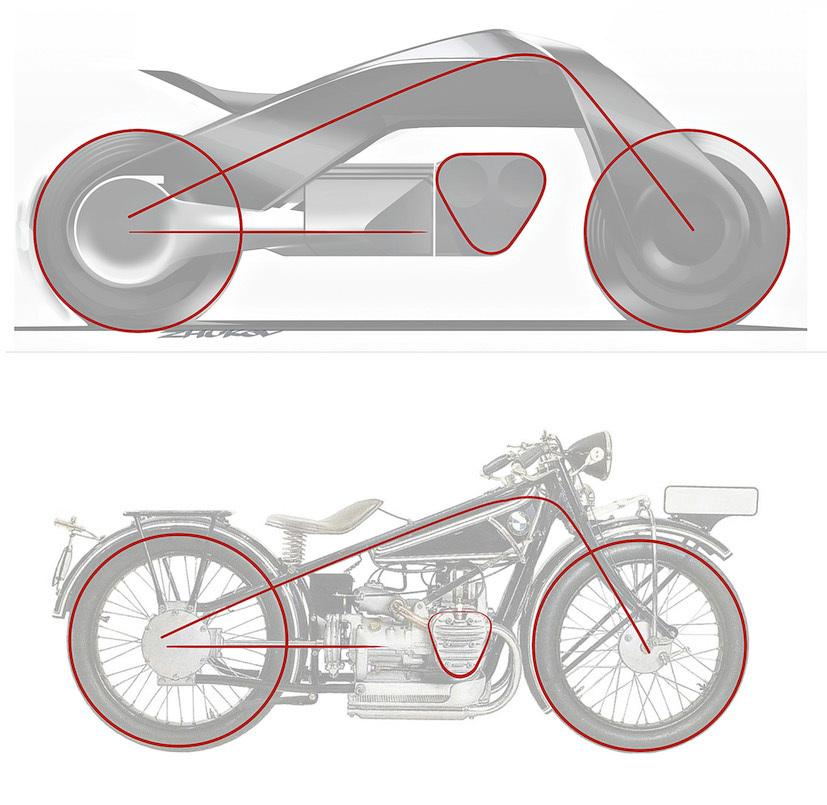 """BMWグループ""""次の100年構想"""":コンセプトバイクは自立&ヘルメット不要だった!! 6番目の画像"""