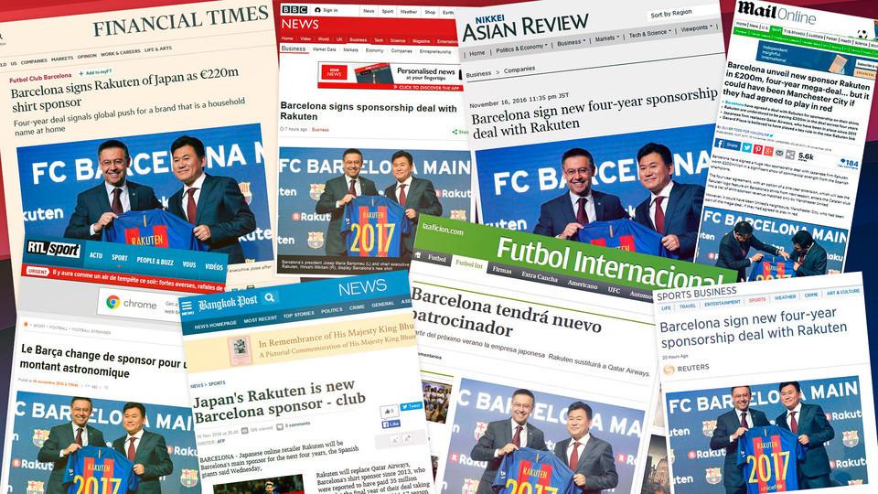 64億円の超大型契約! 楽天、FCバルセロナのスポンサーに:海外戦略の成功をバルサに託す? 7番目の画像