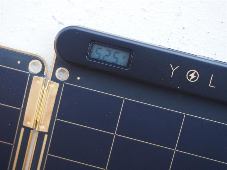 太陽光で充電可能で災害時も安心!スマホに使えるソーラー充電器「Solar Paper」レビュー 4番目の画像