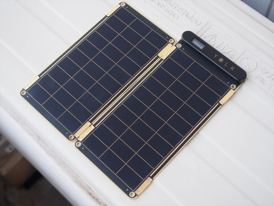 太陽光で充電可能で災害時も安心!スマホに使えるソーラー充電器「Solar Paper」レビュー 5番目の画像