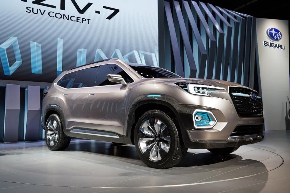 スバルの新SUVがフラッグシップ車種に?「VIZIV-7 SUV CONCEPT」に高まる期待 1番目の画像