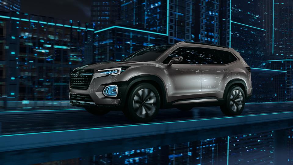 スバルの新SUVがフラッグシップ車種に?「VIZIV-7 SUV CONCEPT」に高まる期待 2番目の画像