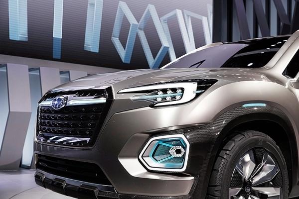 スバルの新SUVがフラッグシップ車種に?「VIZIV-7 SUV CONCEPT」に高まる期待 4番目の画像