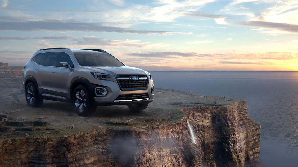 スバルの新SUVがフラッグシップ車種に?「VIZIV-7 SUV CONCEPT」に高まる期待 5番目の画像