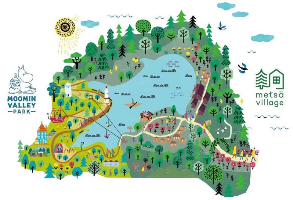 ムーミンのテーマパークが埼玉・飯能市に2019年OPEN! 台場、立川を抑えてなぜ選ばれたのか? 2番目の画像