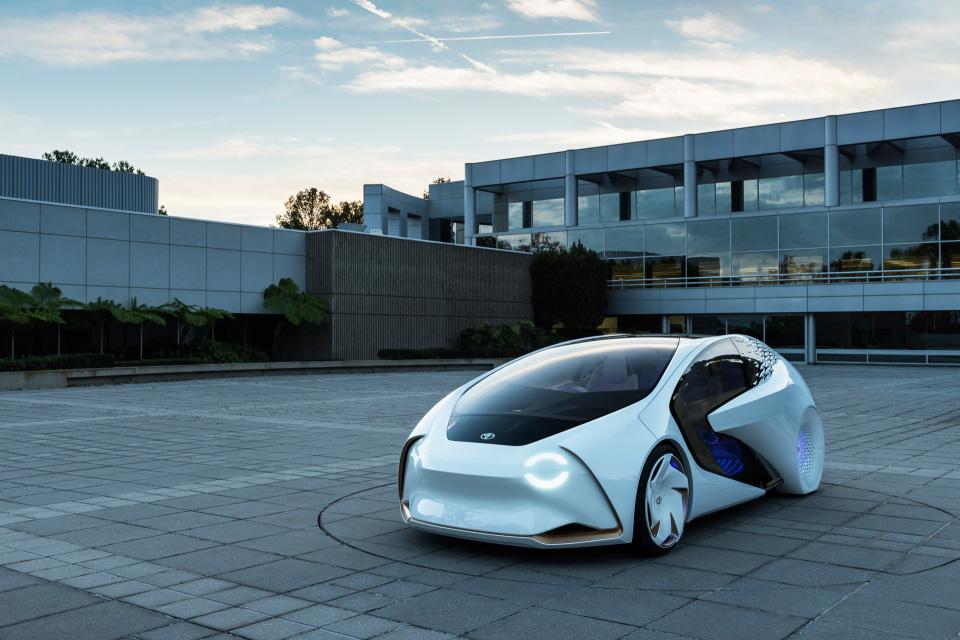 AIと自動運転で人とクルマの新しい関係を構築!トヨタ「Concept-愛i」がCESで世界初公開 2番目の画像