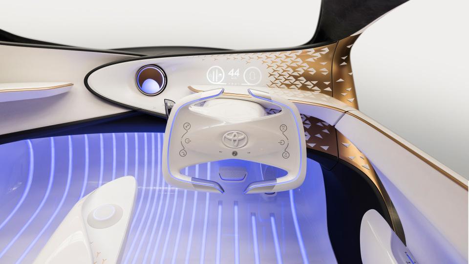 AIと自動運転で人とクルマの新しい関係を構築!トヨタ「Concept-愛i」がCESで世界初公開 4番目の画像