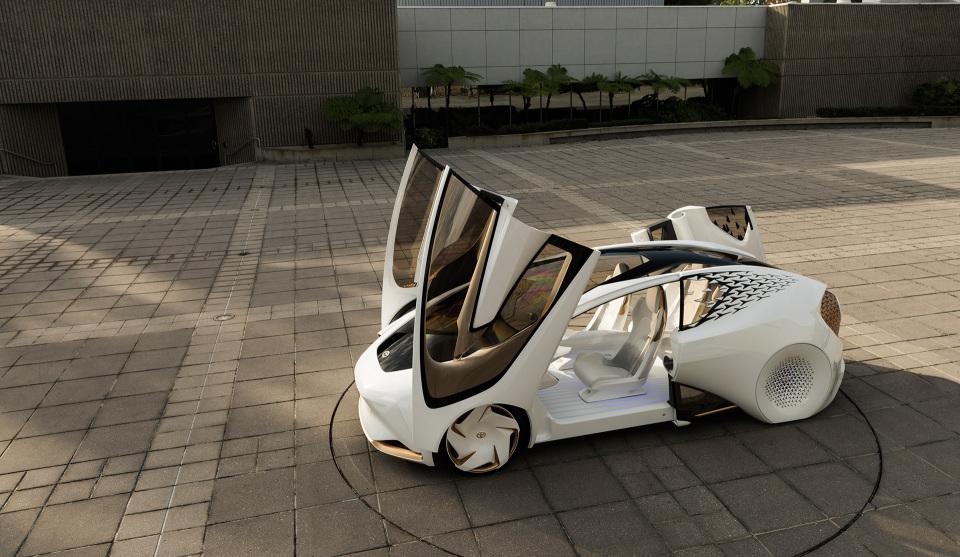AIと自動運転で人とクルマの新しい関係を構築!トヨタ「Concept-愛i」がCESで世界初公開 5番目の画像